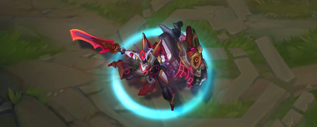 mecha kingdoms Leona lol skin recall animation