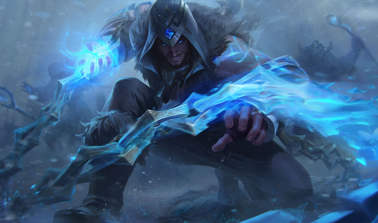 splash art freljord sylas