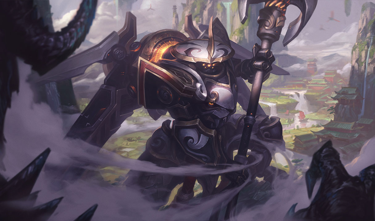 splash art mecha kingdoms jax