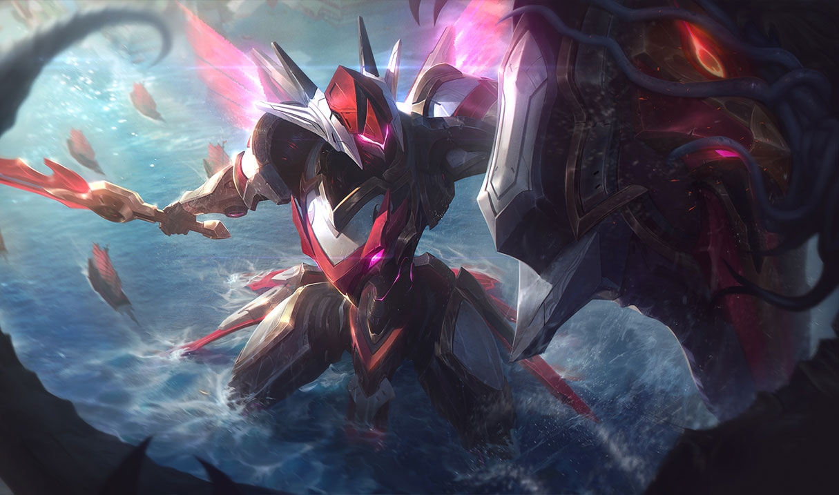 splash art mecha kingdoms Leona