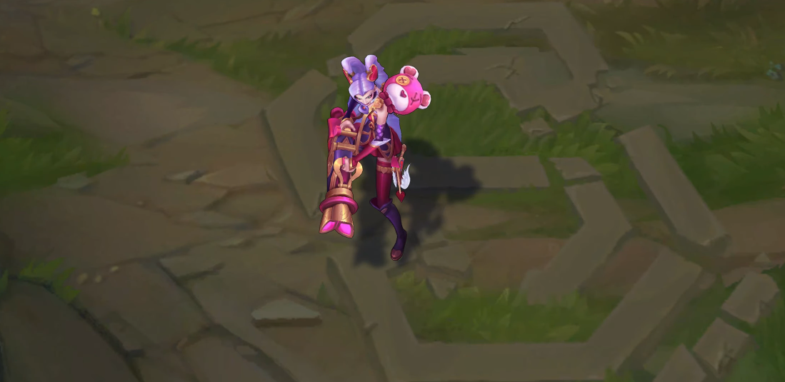 Heartseeker jinx skin for league of legends