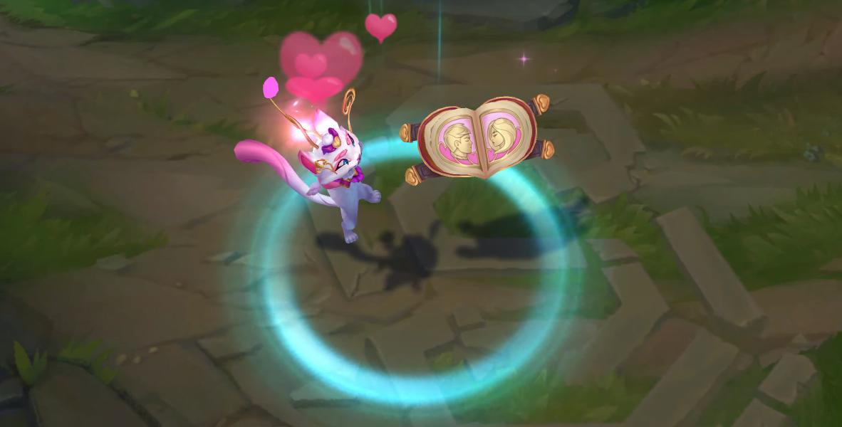 heartseeker yuumi skin recall animation