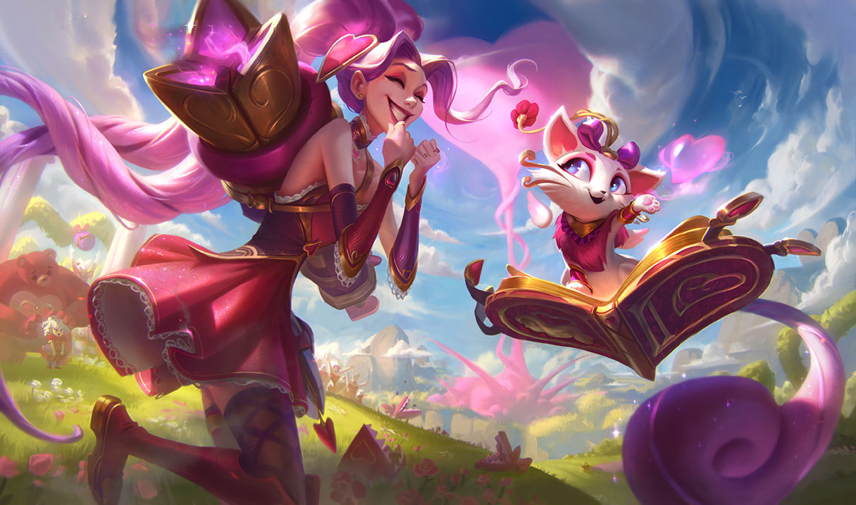 splash art heartseeker yuumi