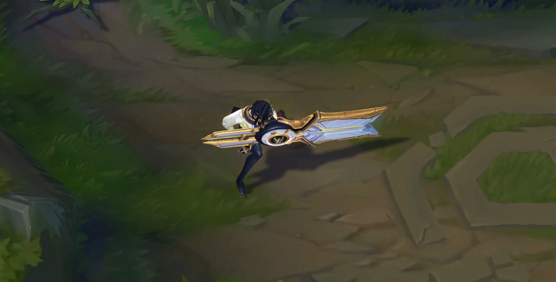 true damage senna prestige edition skin for league of legends