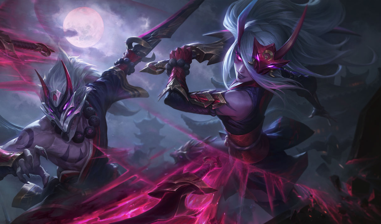 splash art blood moon katarina