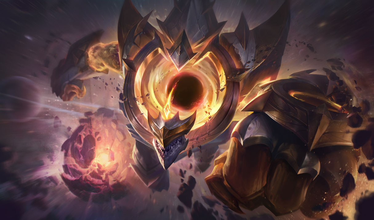 splash art dark star malphite prestige edition