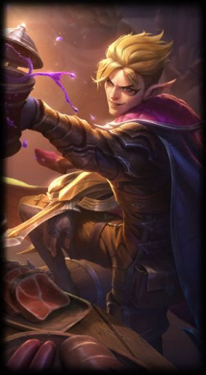 loading screen talon blackwood