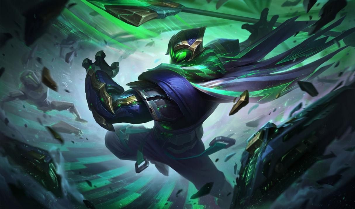 Conqueror Jax Splash art